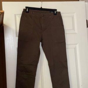 Vince elastic cuff cargo pants— sz 27